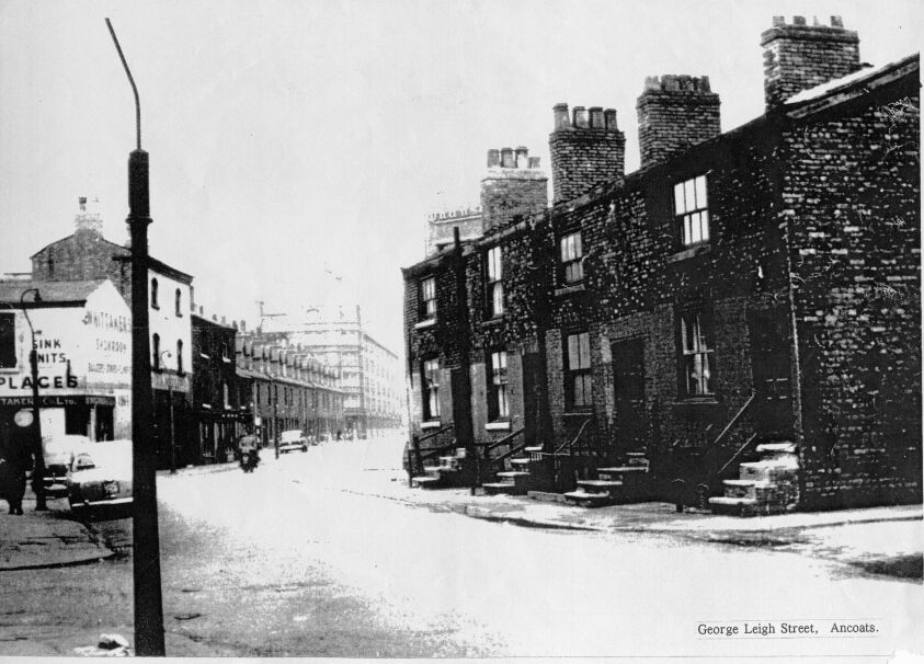George Leigh Street from Gun Street to Henry Street